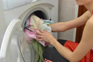マジカルシェリーを洗濯しているイメージの画像